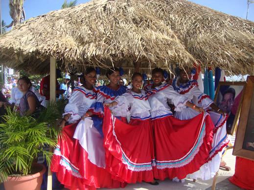 dançarinas da Venezuela