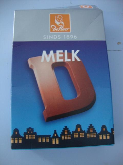 letra de chocolate