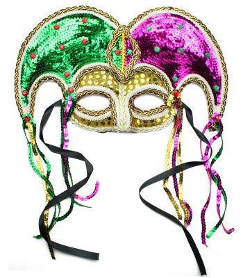 máscara Mardi Gras