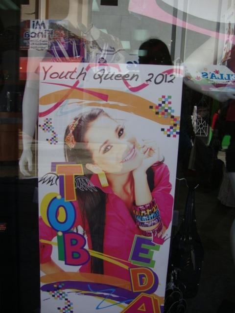cartaz vitrine