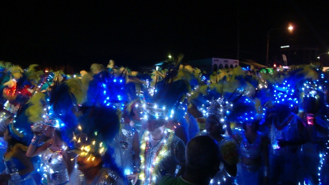 lighting parade